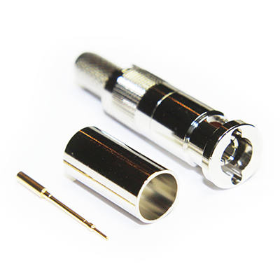 Coax Connectors Micro BNC Crimp Plug